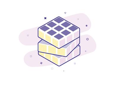 Rubiks Cube complicated rubiks cube