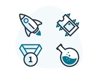 Icons or Illustrations