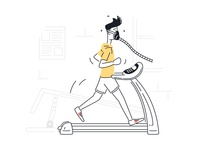 Testing Fitness on Threadmill