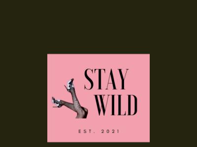 Stay Wild Logo 01 icon design minimal branding behance illustration dribble typography vector logo