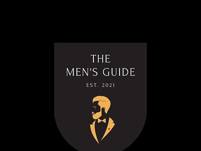 Men's Guide Logo 01 typography icon logo minimal illustration dribble design branding behance