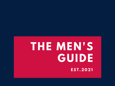 Men's Guide Logo 02 vector typography logo icon minimal illustration dribble design branding behance