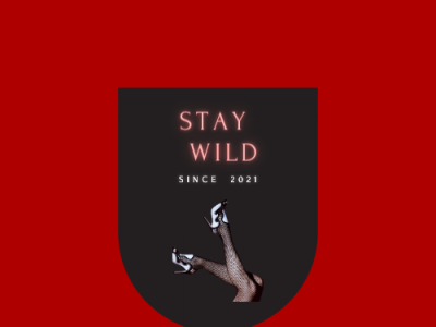 Stay Wild 03 vector typography logo icon minimal illustration dribble design branding behance