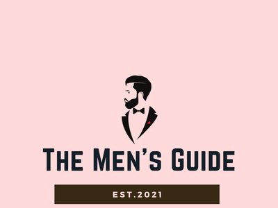 Men's Guide Logo 03 vector typography logo icon minimal illustration dribble design branding behance