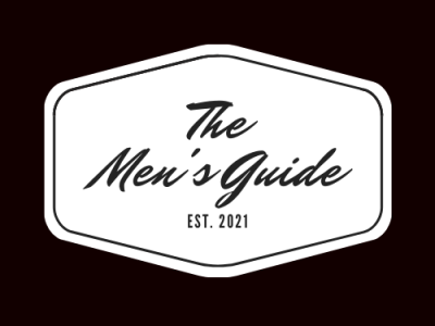 The Men s Guide  04 icon design minimal dribble typography branding behance vector illustration logo