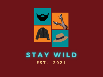 Stay Wild  Logo 04 illustrator vector typography logo minimal illustration dribble design branding behance