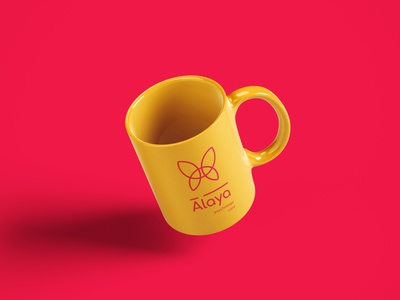 Alaya Brand Identity - Mug coffee mug mug design cup design adobe photoshop design colourful branding branding brand merchandising brand identity brand design