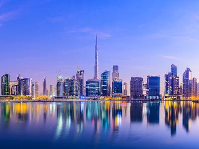Digital Art - Dubai Wallpaper masking typography photoshop digitalart skyscraper burj khalifa dubai