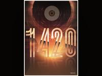 """""""Retrofuturistic"""" Poster"""