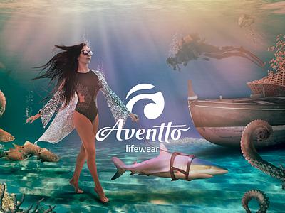 Aventto under boat scuba octopus eyewear model sea