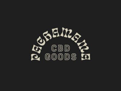 CBD Goods wordmarks type cbd