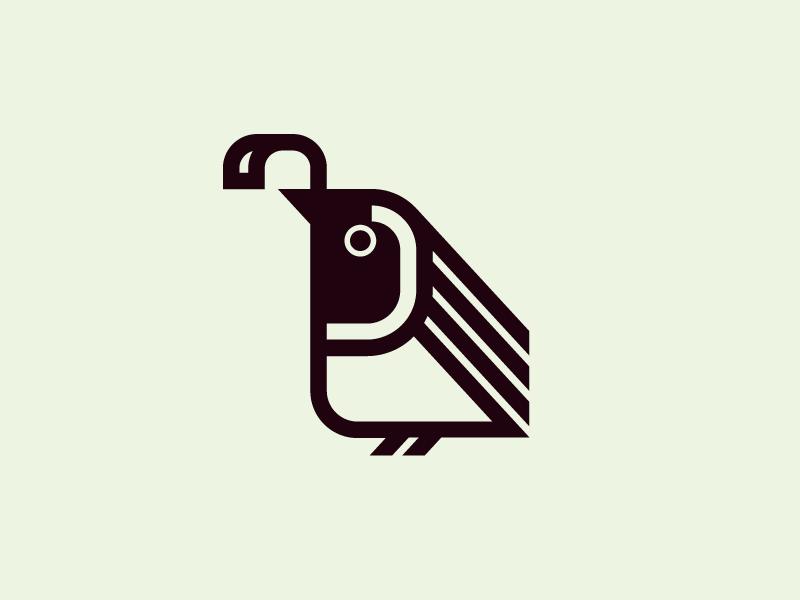 Quail logo icon bird icon animals mark bird logo quail birds