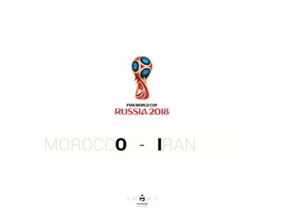 Morocco 0 - 1 Iran (FIFA World Cup 2018)