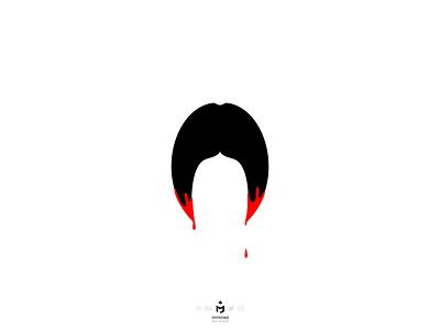 برای رومینا اشرفی (For Romina Ashrafi) minimalist minimalism minimal iranian iran murder child innocent girl poster design posterdesign poster art poster