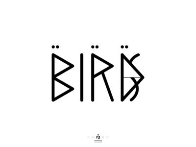 Birds Typography