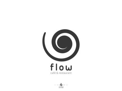 Flow Cafe & Restaurant Logo