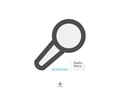 لوگوتایپ رادیو مرز (Radio Marz Logo)