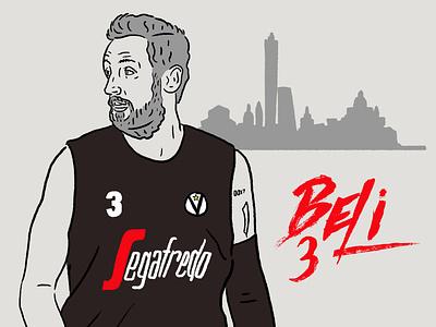 Marco Belinelli socialmedia fan digital contentcreation fanengagement design artist artwork sport art