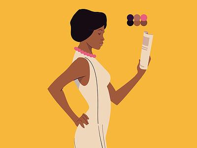 Herstory - Dorothy Gilliam Character washingtonpost character animation characterdesign humanrights