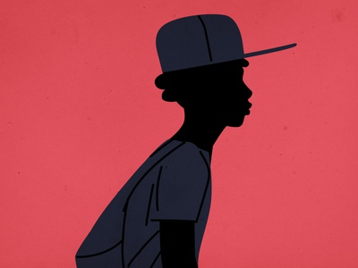 Boy characterdesign gang hat blacklivesmatter black