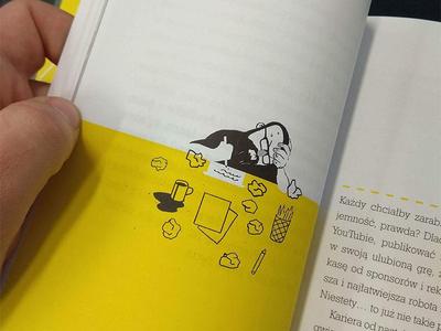 Cały ten Rock editorial illustrations publishing znak
