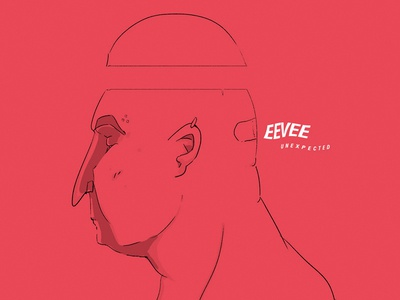 Evee music illustration cover face