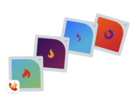 Promoted In-App Purchase Icons for Burner