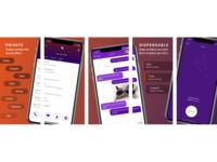 App Store Screenshots for Burner