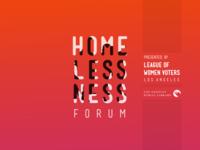 Homelessness Forum Announcement