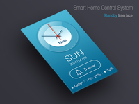 Smart Home Control System   Standby Interface