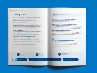 Innovation Academy Learning Workbook Interior publication design print design