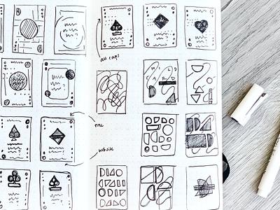Delight Shuffle Concept Sketches