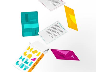 Delight Shuffle game card game design print design card design design thinking methodology game design