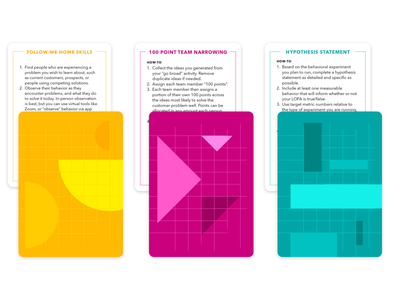 Delight shuffle methodology cards card game design card design methods methodology print design