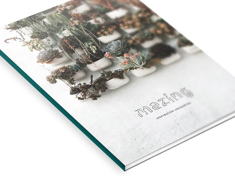 Mazing Magazine Issue 2 magazine magazine design layout design publication design
