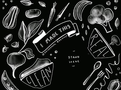 Chalkboard Illustration photography backdrop design chalkboard illustration illustration
