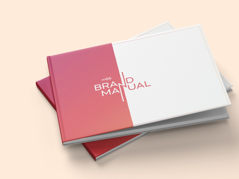 Doron_Branding document graphicdesign brand manual brand identity brand design branding