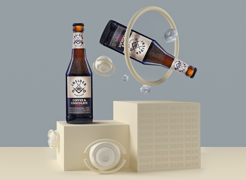 Beer advertasing captureone illustration retouch collage 3dmodelling artwork branding bottle concept 3dsmax 3d art design graphicdesign advertising beer