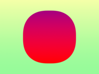 Squircle sunset