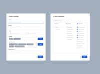 Smart Office - Create a meeting
