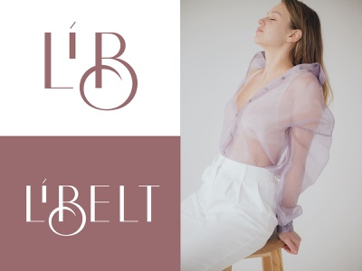 Libelt - Logo for clothing brand. graphicdesign wear woman fashion identity clothes sign lettering mark monogram branding logotype typogaphy logo design