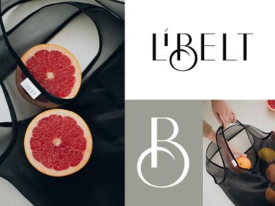 Logo design - Libelt wear lettermark branding design identity mark clothes design monogram lettering branding typogaphy logotype logo design