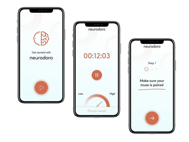 Neurodoro figma mobile app mobile ui mobile ux ui