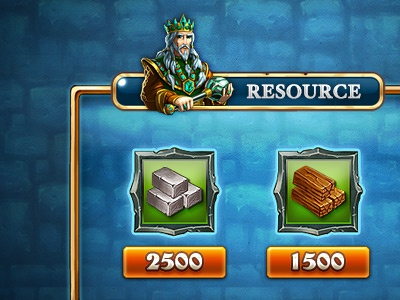 Game Interface Design - Box Resouce