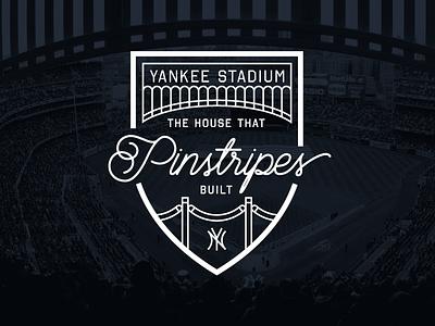 """""""New"""" Yankee Stadium 2/30 pinstripes york new yankees"""