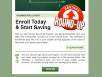 Savings Email