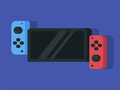 Nintendo Switch video games nintendoswitch switch nintendo illustrator iconset icons animal crossing zelda mario console arcade illustration icon simple vector