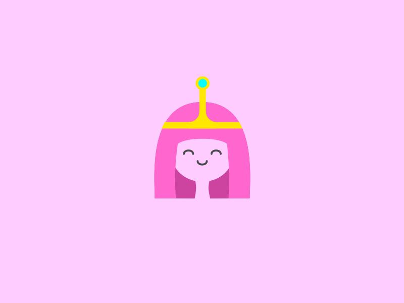 Princess Bubblegum illustration vector adventure time princess bubblegum