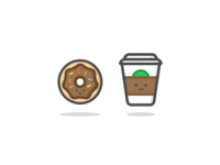 Donut & Coffee