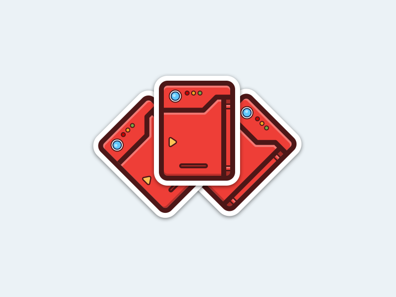 Pokedex   stickers